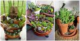 Creative Ideas to Make Fairy Mini Garden from Broken Pots