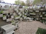 Garden Design - Cinder block lettuce wall garden