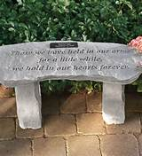 Personalized Memorial Garden Bench | Memorial garden ideas | Pinterest