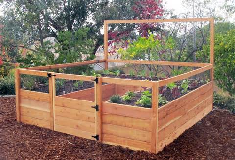 8x8 garden raised garden bed kit free shipping
