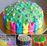 diy easter peeps cake pictures photos and images for facebook