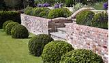 brick garden wall designs