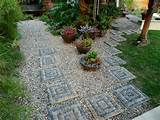 mosaic stepping stones are a beautifuladdition to a lawn or garden and