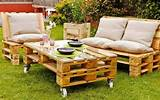 Ideas About Pallet Outdoor Furniture For Modern Look | Wooden Pallet ...