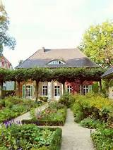 french country landscape design ideas | ... Garden, DIY Grape Arbor ...