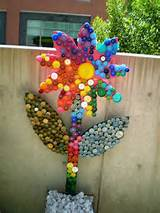 Art garden ideas school mosaic recycled garden art)