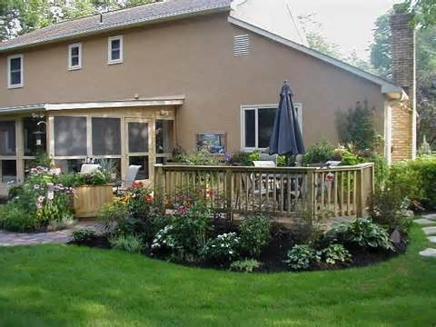 ... Deck Landscaping, Landscaping Around Patio and Under Deck Landscaping