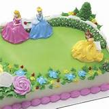 Disney Princess Garden Royalty Cake Kit at Birthday Direct