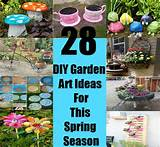 28 Fascinating And Inexpensive DIY Garden Art Ideas For This Spring ...
