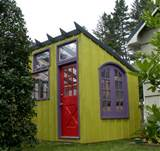 ... shed/greenhouse in 4-foot modules so that it can be dismantled and