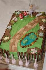 fairy garden sheet cake a little more realistic for a novice baker
