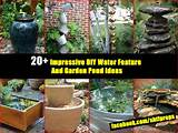 20 impressive diy water feature and garden pond ideas shtf