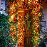 Garden Inspired Christmas Door Decorations Pictures, Photos, and ...