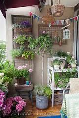 countrt style balcony garden idea source