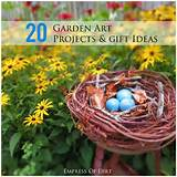 here s 20 garden art ideas and projects with free instructions make