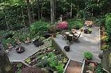 landscaping for a wooded sloped lot landscaping pinterest
