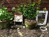 shell fairy garden babies memorial garden pinterest