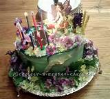 ... Fairy Garden Cake... This website is the Pinterest of birthday cake