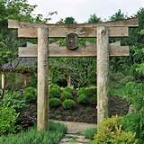 oriental arbor garden ideas pinterest