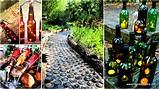 19 spectacular sustainable diy wine bottle outdoor decorating ideas