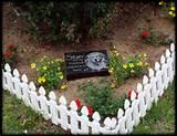 Starr Pet Memorial in Garden, pet memorial stone