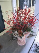 winter container garden | Holiday Ideas | Pinterest