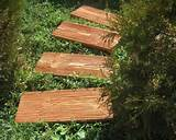 Wooden Garden Path Ideas