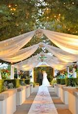 simple outdoor wedding ideas simple lighting design with small lamps