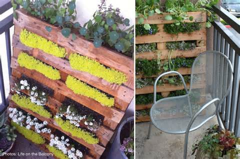apartment dwellers who want a balcony garden without tons of hanging ...
