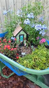 had so much fun creating my fairy garden it continues to change