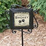 Photo : Pet Memorials Pet Memorial Stones Pet Grave Markers Images