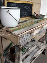diy pallet potting bench ideas pallet furniture plans