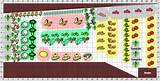 vegetable garden planning sheet