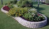 estate edge small garden retaining wall