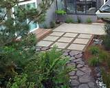 Stained Concrete Patio modern-landscape