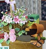 garden theme birthday cake different angle cake decorating