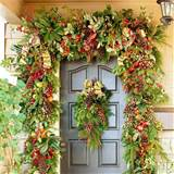 Christmas Front Door Decorations ideas | My desired home