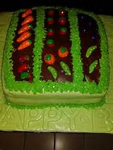 Vegetable garden cake | Cake ideas! | Pinterest