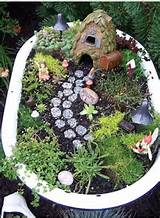 Fairy Garden, cute idea for the kids. | Fairy gardens | Pinterest