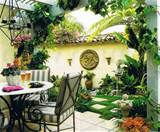 design an urban patio garden native garden design