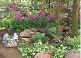 Gardens Ideas, Shady Garden, Rocks Gardens, Landscape Design, Flower ...