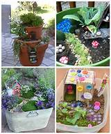 Cool wee fairy garden ideas | Fairy Garden | Pinterest
