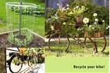 25 Ideas of How to Recycle Old Bicycles Wisely | DesignRulz