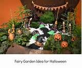 Fairy Garden Idea for Halloween