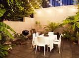 backyard lighting idea