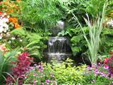 garden waterfalls ideas native garden design