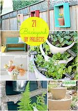 Here are 21 great Outdoor Projects YOU can make or Spring inspiration ...