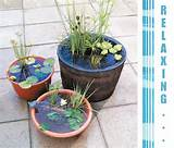 Design Plus You: DIY: Outdoor Water Garden