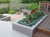 patio garden planter box plans ideas home inspirations