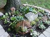 ... Gardening, Fairies Houses Gardens, Gardens Fairies, Miniatures Gardens